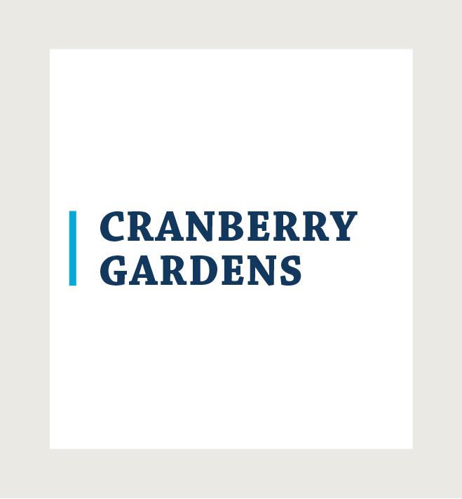 Logo for Cranberry Gardens
