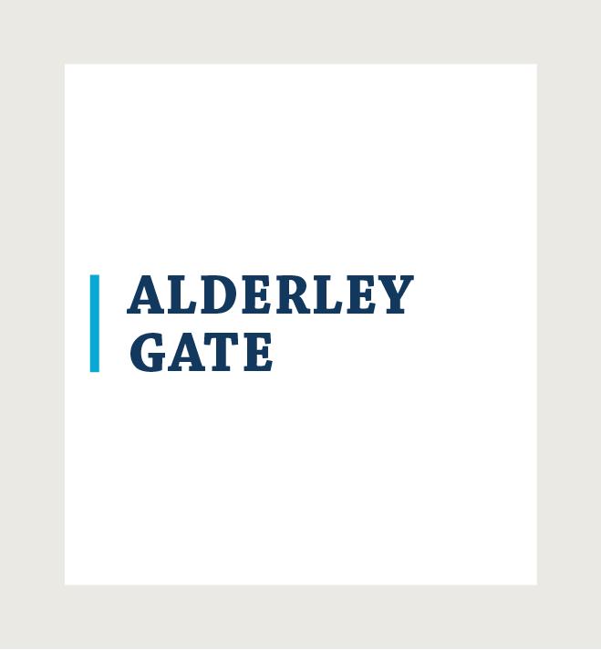 Alderley Gate logo