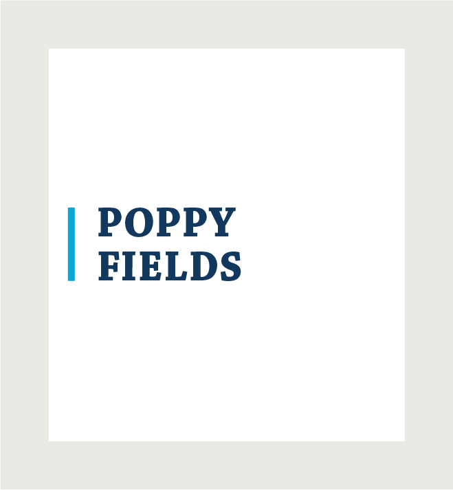 Poppy Fields logo