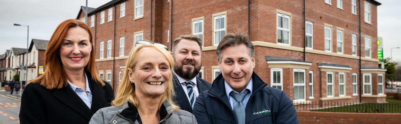 Banner image related to 'OVH unveil 23 affordable new homes in Southport'