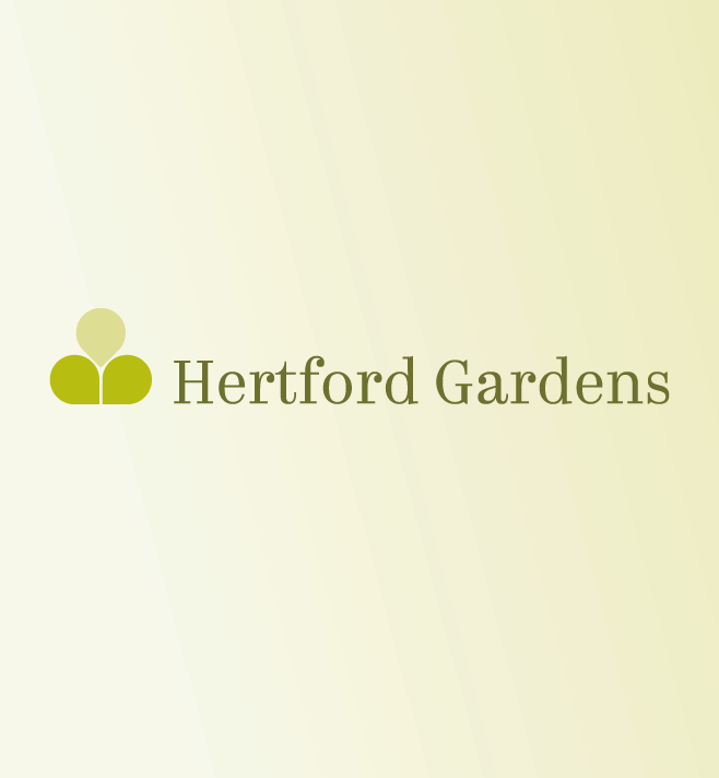 Logo for Hertford Gardens