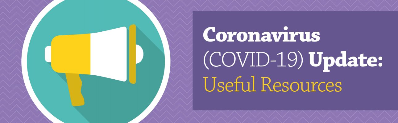 Banner image related to 'COVID-19 update: Useful resources'