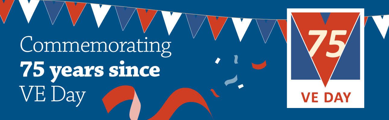 Banner image related to 'Commemorating 75 years since VE Day'