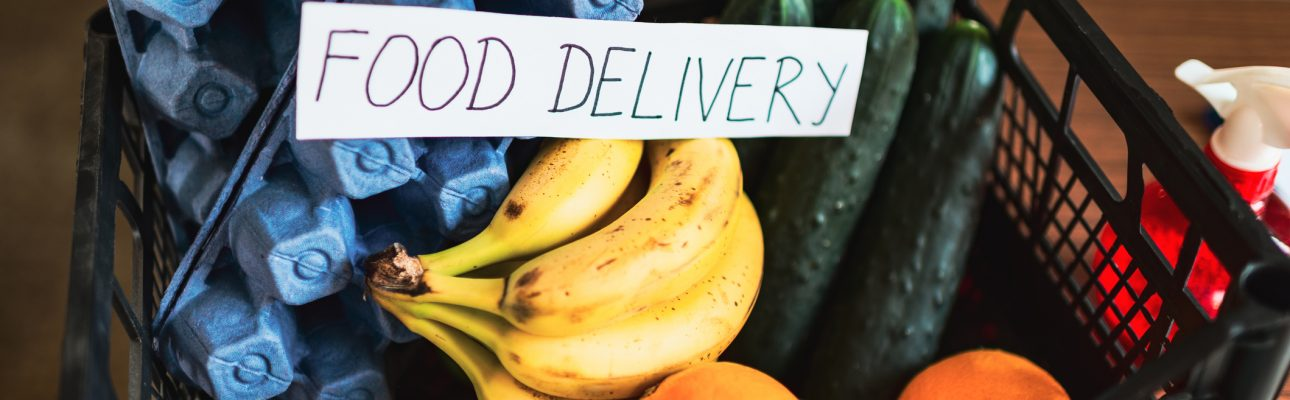 Banner image related to 'Independent Living Officer Ian organises food for households in need'