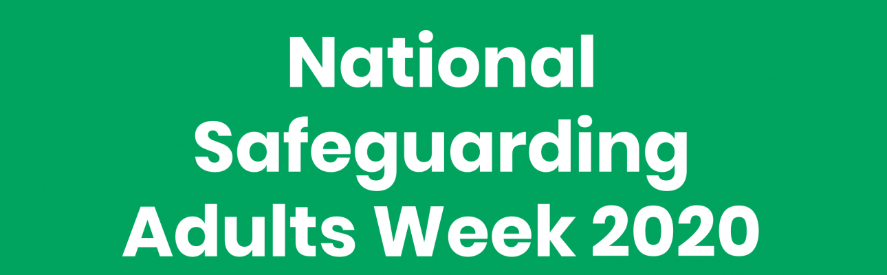 Banner image related to 'National Safeguarding Adults Week'