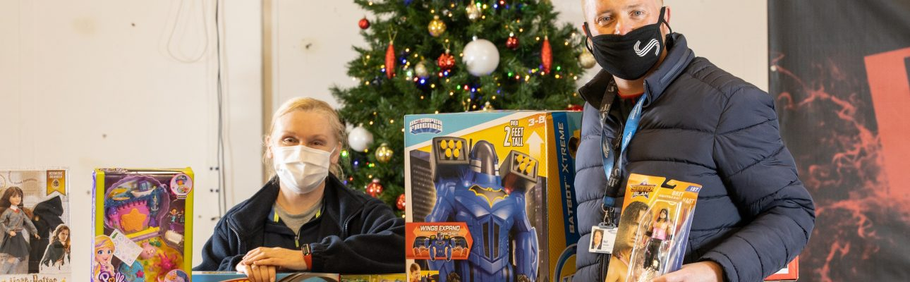 Banner image related to 'Merseyside communities receive over £20k worth of food and Christmas treats donated by OVH'