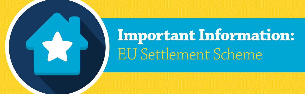 Banner image related to 'Important information: EU Settlement Scheme'