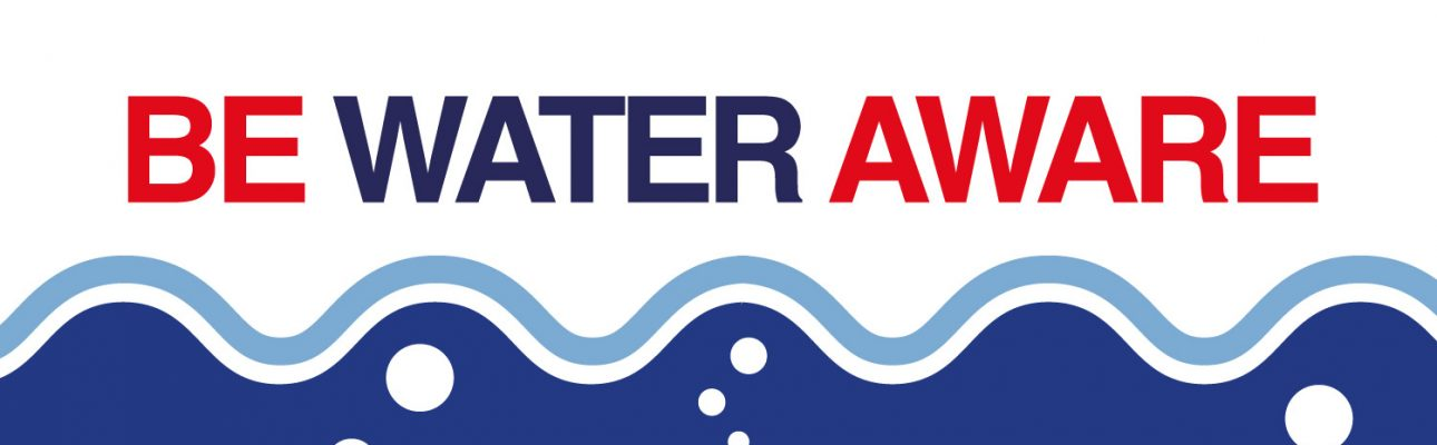 Banner image related to 'Be water aware!'