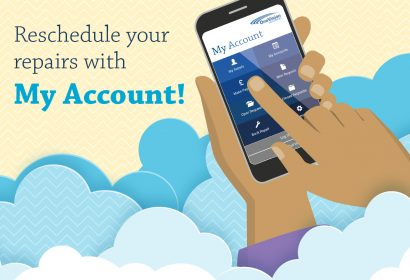 Register today for My Account  1