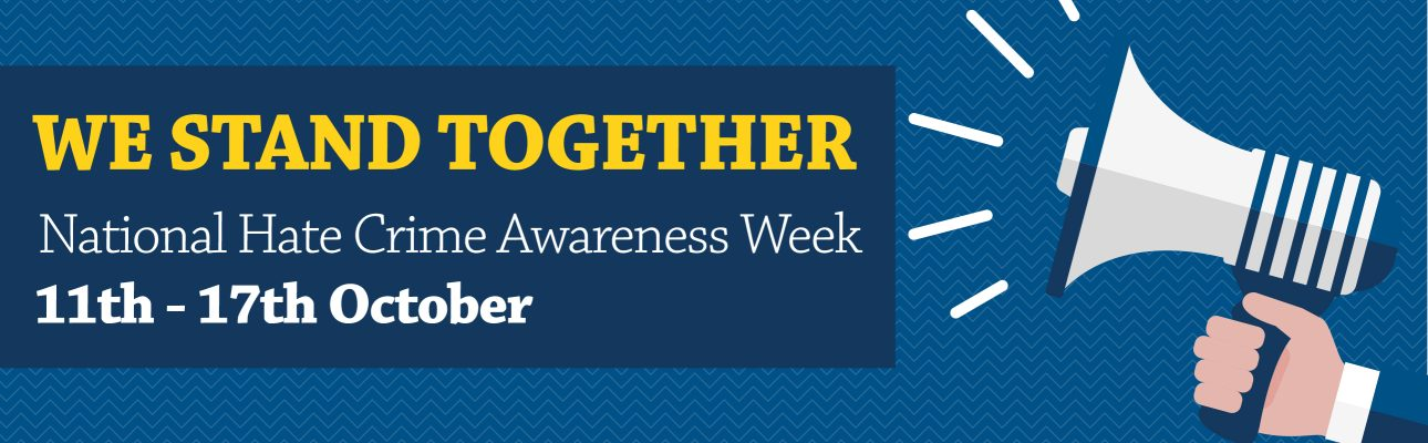Banner image related to 'National Hate Crime Awareness Week'
